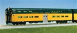 Kato 356026 HO Pullman Bi-Level 4-Window Cab-Coach Chicago & North Western green 381-356026