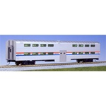 Kato 356031 HO Pullman Bi-Level 4-Window Coach Amtrak Phase III 381-356031