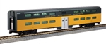 Kato 356037 HO Pullman Bi-Level 4-Window Coach RTR Chicago & North Western 381-356037