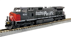 Kato 37-6631-DCC HO GE C44-9W DCC Southern Pacific 8132 Speed Lettering