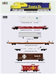 Kato KMT001 N Kato Micro-Trains SDP40F and 1980s Freight Cars Bundle DC Santa Fe