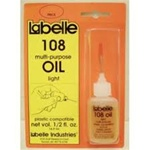 Labelle 108 Plastic Compatible Motor Oil 1/2oz Light Weight