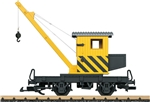 LGB 40043 G 2-Axle Crane Painted Unlettered