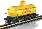 LGB 40810 G Wood-Frame Tank Car Coca-Cola