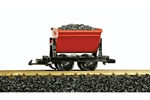 LGB 42430 G Dump Car w/Load Red 426-42430 LGB42430
