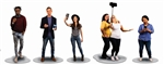Lionel 1930060 O Millennial People Pack