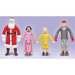 Lionel 614273 O Polar Express Figures #2 4