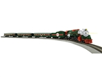 Lionel 871811020 HO The Christmas Express LionChief Bluetooth Control North Pole Central 2-8-4 Locomotive 3 Cars 434-871811020