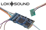 LokSound 58420 HO LokSound 5 Sound and DCC Control Decoder w/ Sugar Cube Speaker and Enclosure