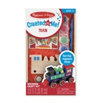 Melissa & Doug 8846 V Decorate-Your-Own Wooden Train Kit