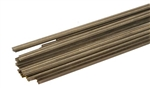 Micro Engineering 16-125 O Weathered Nickel Rail 3' Long Pieces Code 125 Pkg 33