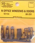 Micro Engineering 80201 N Office window         10/ 255-80201 MEC80201