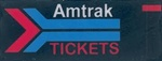 Micro Structures 64812 Animated Wall Sign Amtrak Tickets Right Large