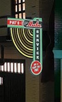 Micro Structures 69811 Animated Multi-Graphic Vertical Neon Sign Kit w/6 Overlays Fan Series #1 Left Large