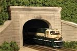 Monroe Models 215 N Double-Track Tunnel Portal Grooved Concrete 493-215
