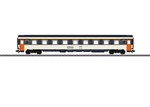 Marklin 43281 HO Eurofima Type A9u 1st Class Compartment Car 3-Rail French State Railroad SNCF Era IV White Black Red