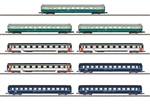 Marklin 87408 Z Eurofima Pass 9-Car Set 441-87408