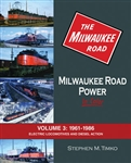 Morning Sun 1535 Milwaukee Road Power In Color Volume 3 1961-1986 Electric Locomotives and Diesel Action