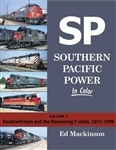 Morning Sun 1620 Southern Pacific Power In Color Volume 2 Roadswitchers and the Remaining F-Units 1971-1996