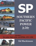 Morning Sun 1630 Southern Pacific Power In Color Volume 3 Six-Axles Eight-Axles and GP60's 1971-1996