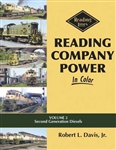 Morning Sun 1632 Reading Company Power In Color Volume 2 Second Generation Diesels