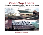 Morning Sun 6476 Open-Top Loads Flatcar and Gondola Color Portfolio Volume 1 Softcover