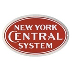 Microscale 10006 Embossed Die-Cut Metal Sign New York Central
