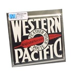 Microscale 10008 Embossed Die-Cut Metal Sign Western Pacific