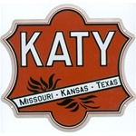 "Microscale 10029 Embossed Die-Cut Metal Sign Missouri-Kansas-Texas ""Katy"""