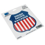 "Microscale 20002 4"" Die-Cut Vinyl Stickers Union Pacific"