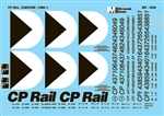 Microscale 4339 HO CP Rail Cabooses 1969+ 460-4339