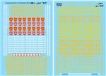 Microscale 48194 O Railroad Decal Set Pennsylvania GP7 & GP9 Diesels 1952-1968