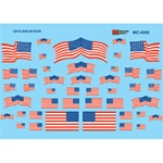 Microscale MC4202 HO US Flags 50-Star 1960+