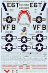 Microscale MS48-1114 Military Decal Set 460-MS48-1114