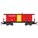 Micro-Trains 130 00 270 N Steel Bay Window Caboose Tennessee Alabama & Georgia X72