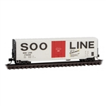 Micro-Trains 181 00 130 N 50' Boxcar w/8' Plug Door No Roofwalk Short Ladders Soo Line 178260