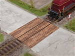 Noch 67105 O Wood Grade Crossing Laser-Cut Kit