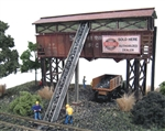N Scale Architect 10030 N Gravel & Coal Company Trackside Series Laser-Cut Wood Kit