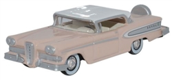 ODU87ED58003 Oxford Diecast USA HO Edsel Citation Pnk/F.Wht 553-87ED58003