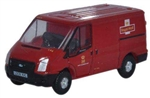ODUNFT002 Oxford Diecast USA N Ford Transit Van Low Roof 553-NFT002