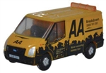 ODUNFT016 Oxford Diecast USA N Ford Transit Van Low Rof 553-NFT016