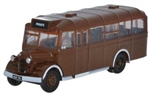 ODUNOWB002 Oxford Diecast USA N Bedford OWB Bus Brown 553-NOWB002