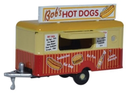 ODUNTRAIL001 Oxford Diecast USA N Mobile Trlr Bob's Hot Dog 553-NTRAIL001