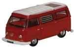 ODUNVW004 Oxford Diecast USA N VW Camper Van Red/Wht 553-NVW004