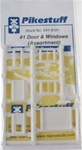 Pikestuff 8101 N #1 Door & Window Assort 541-8101 PKS8101