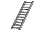 Plastruct 90444 O ABS Stairs 17/64 x 7/8""