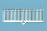 Plastruct 91460 O Fence Verticle Bar Square Trim Fence 1 3/8 x 8""