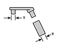 Plastruct 95939 O Stanchion Hardware