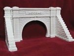 Pre-Size 156 HO Hoosac Tunnel West Portal w/ Wing Walls Unpainted