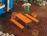 Pola 333222 G Beer Table & Benches